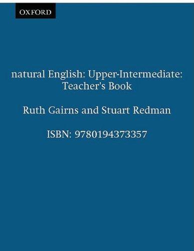 Natural English Upper Intermediate - Teacher's N/A edition cover