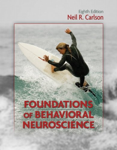 Foundations of Behavioral Neuroscience  8th 2011 edition cover