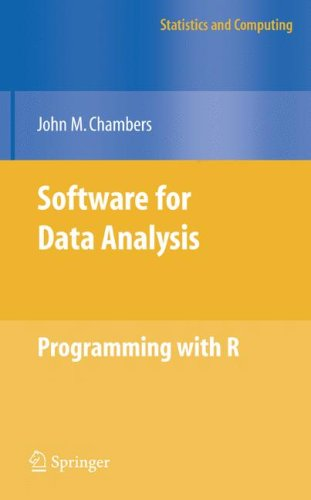 Software for Data Analysis Programming with R  2008 edition cover
