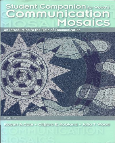 Stdt Comp-Comm Mosaics 3rd 2004 9780534607357 Front Cover