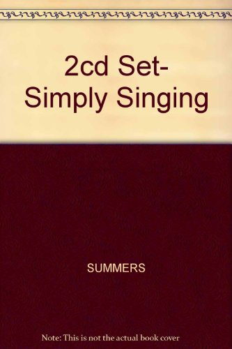 Simply Singing   2005 9780534623357 Front Cover