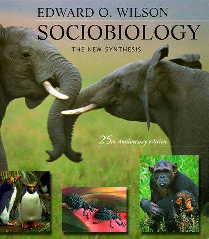 Sociobiology The New Synthesis 2nd 1975 edition cover