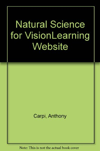 Natural Science for VisionLearning Website 3rd 2003 9780757501357 Front Cover