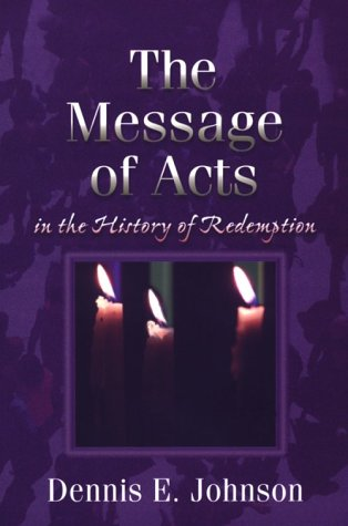 Message of Acts in the History of Redemption  N/A edition cover