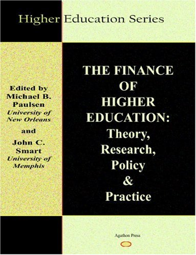 Finance of Higher Education Theory, Research, and Policy  2001 edition cover