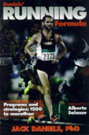 Daniels' Running Formula   1998 edition cover