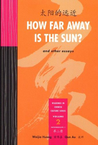 How Far Away Is the Sun? : [Tai Yang de Yuan Jin  2007 edition cover