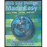 Web Design Made Easy : Learn HTML, XHTML and CSS 3rd 2008 edition cover