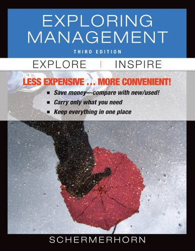 Exploring Management  3rd 2012 edition cover