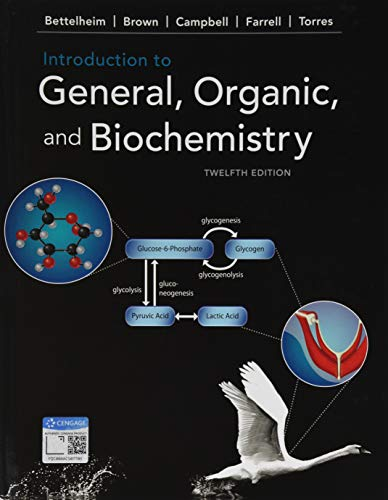 Introduction to General, Organic, and Biochemistry:   2019 9781337571357 Front Cover