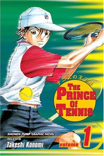 Prince of Tennis, Vol. 1   2004 edition cover