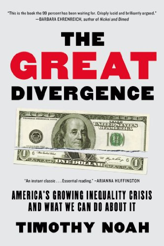 Great Divergence America's Growing Inequality Crisis and What We Can Do about It  2013 edition cover