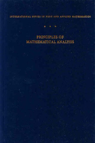 Principles of Mathematical Analysis  3rd 1976 (Revised) edition cover