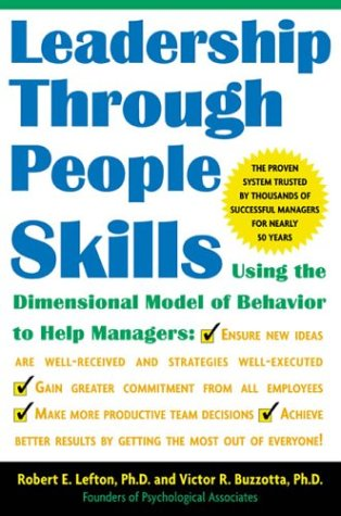 Leadership Through People Skills   2004 edition cover