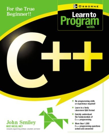 Learn to Program with C++   2002 9780072225358 Front Cover