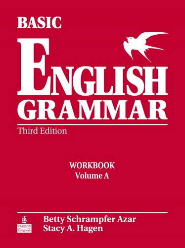Basic English Grammar Workbook a with Answer Key  3rd 2005 edition cover