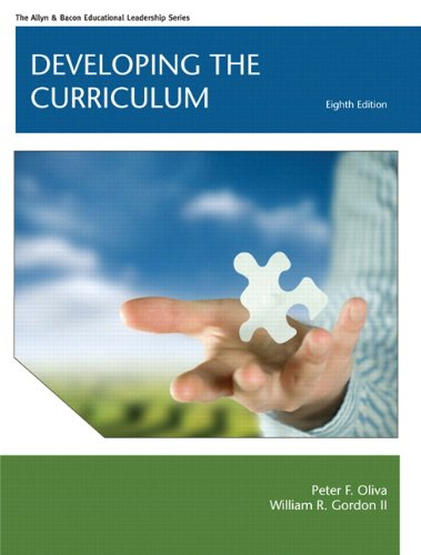 Developing the Curriculum  8th 2013 9780133155358 Front Cover