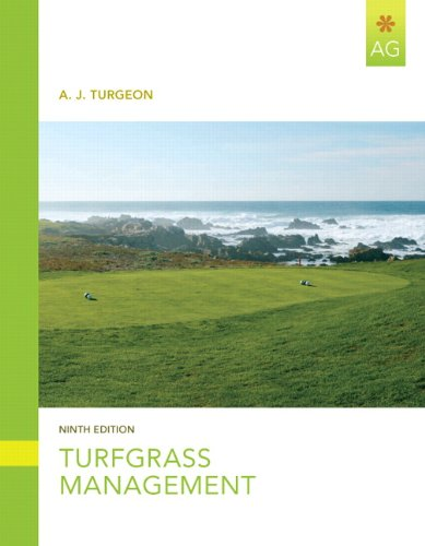 Turfgrass Management  9th 2012 (Revised) edition cover