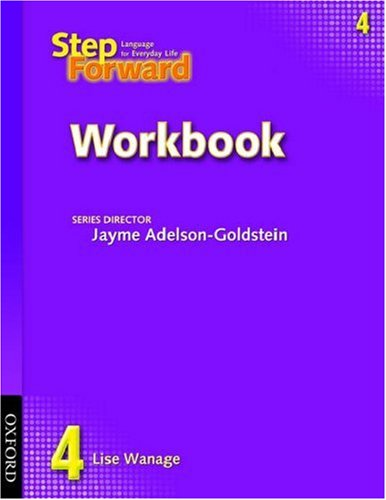 Step Forward, Level 4  Workbook  9780194392358 Front Cover
