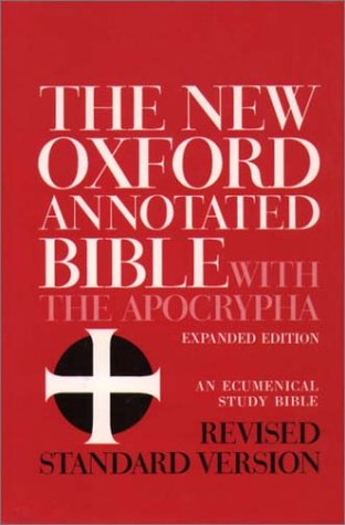 New Oxford Annotated Bible with the Apocrypha  Revised  9780195283358 Front Cover