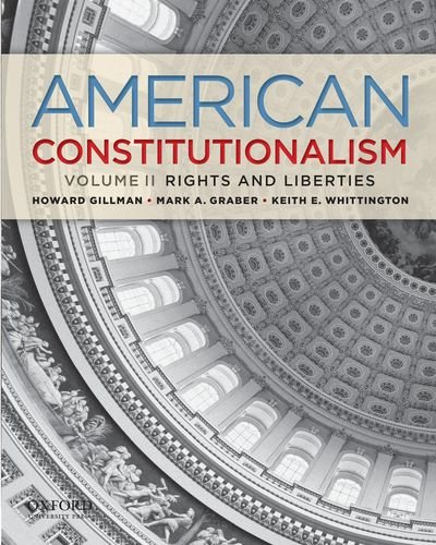American Constitutionalism Rights and Liberties N/A edition cover