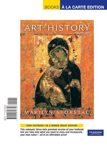 Art History, Volume One  3rd 2008 9780205748358 Front Cover