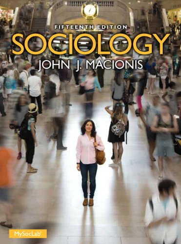 Sociology Plus NEW MySocLab with Pearson EText -- Access Card Package  15th 2014 edition cover