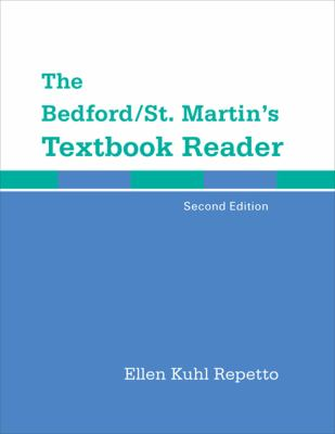 Bedford/St. Martin's Textbook Reader  2nd 2013 edition cover