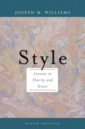 Style Ten Lessons in Clarity and Grace 9th 2007 (Revised) edition cover