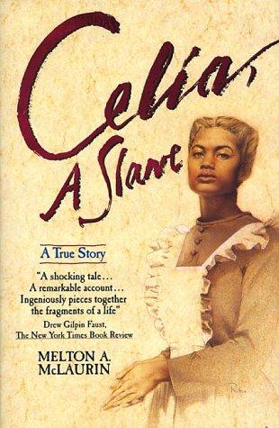 Celia, a Slave  Reprint edition cover