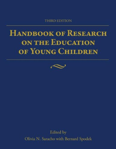 Handbook of Research on the Education of Young Children  3rd 2013 (Revised) edition cover