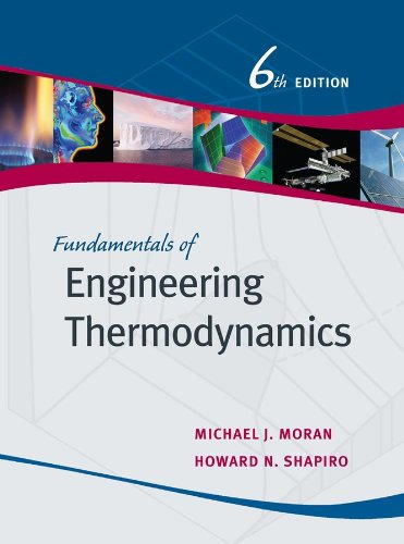 Fundamentals of Engineering Thermodynamics  6th 2008 (Revised) edition cover