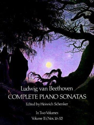 Complete Piano Sonatas   1975 (Reprint) edition cover