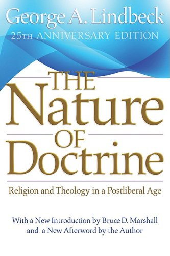 Nature of Doctrine Religion and Theology in a Postliberal Age 25th 2009 edition cover