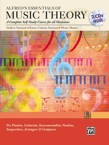 Alfred's Essentials of Music Theory A Complete Self-Study Course for All Musicians  2004 edition cover