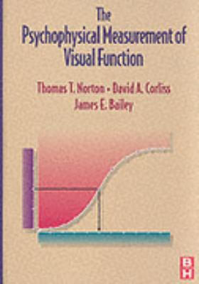 Psychophysical Measurement of Visual Function   2002 9780750699358 Front Cover