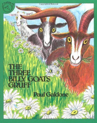 Three Billy Goats Gruff   1981 edition cover