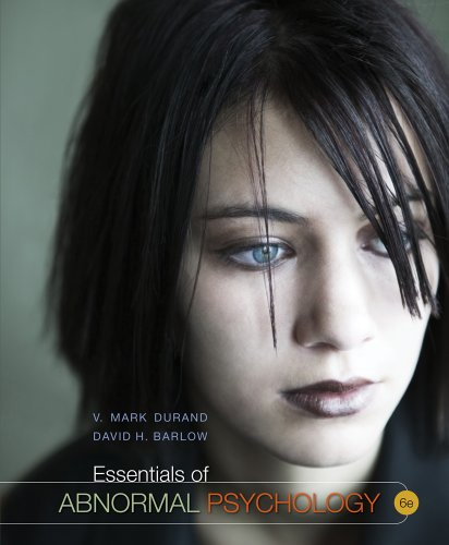Cengage Advantage Books: Essentials of Abnormal Psychology  6th 2013 edition cover