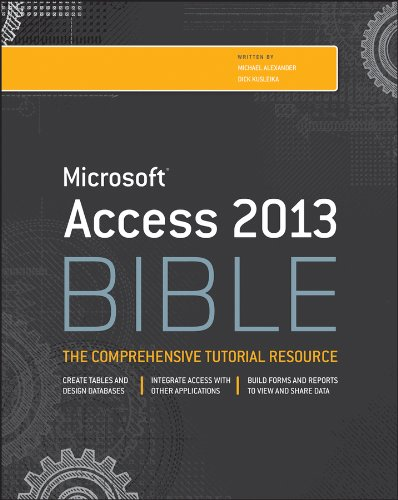 Access 2013 Bible   2013 9781118490358 Front Cover