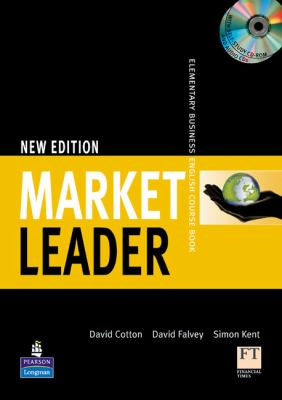Market Leader 1 + Self-Study CD-ROM + Audio CD: Elementary Business English Course Book  2008 9781405813358 Front Cover
