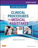 Study Guide for Clinical Procedures for Medical Assistants  9th 2014 edition cover