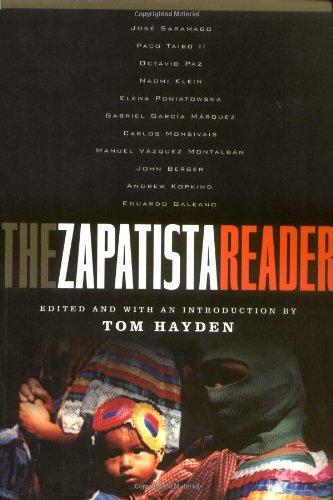 Zapatista Reader   2002 edition cover