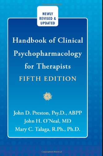 Clinical Psychopharmacology for Therapists  5th 2007 (Revised) edition cover