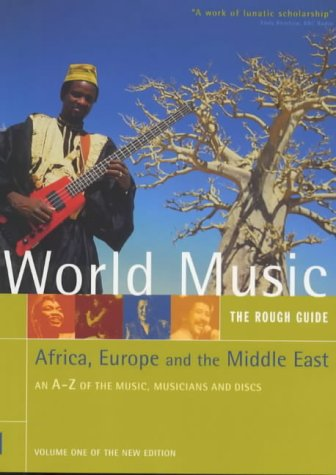 Rough Guide to World Music Africa, Europe and the Middle East 2nd 1999 edition cover