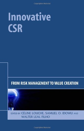 Innovative CSR From Risk Management to Value Creation  2010 edition cover