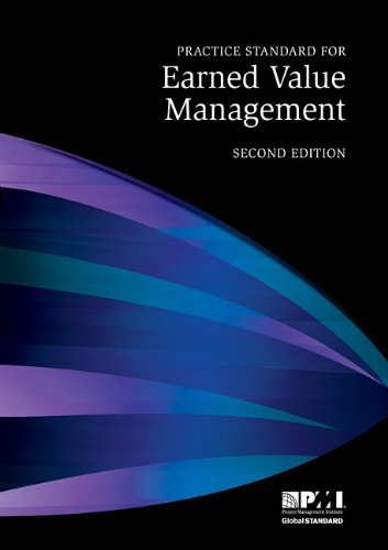 Practice Standard for Earned Value Management - 2nd Edition  2nd 2011 edition cover