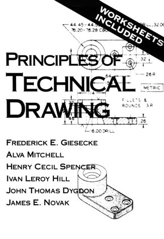 Principles of Technical Drawing  1st 1992 edition cover