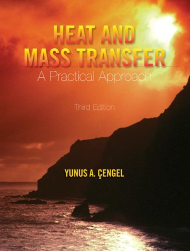 Heat and Mass Transfer A Practical Approach w/ EES CD 3rd 2007 (Revised) edition cover
