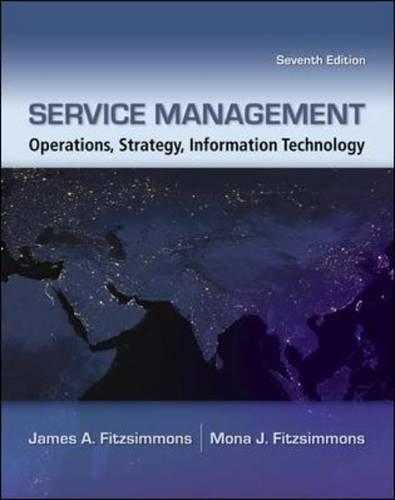 Service Management  7th 2011 edition cover