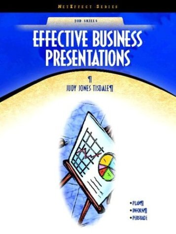 Effective Business Presentations   2005 edition cover